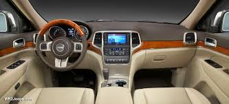 jeep interior accessories jeep grand cherokee wk2 2011 official press images