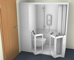 Shower Folding Doors Contour Cubicle Shower Enclosure Option 4 Wc And Bi
