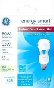 ge energy smart cfl light bulbs 13 watt 60w equivalent ge energy smart light bulbs watta csumptige energy smart cfl light