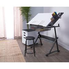 Drafting Table Reviews Studio Designs Fusion Drafting Table And Stool Set Reviews