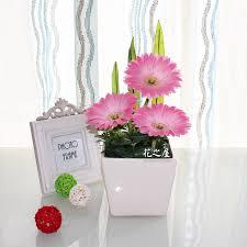 fake flowers for home decor led flower pot gerbera fake flowers artificial flowers home decor