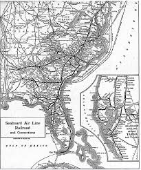 Piedmont Airlines Route Map by Seaboard Air Line Railroad Wikiwand