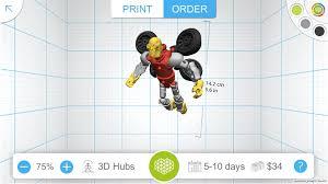 design print awesome robot 3d hubs 3d