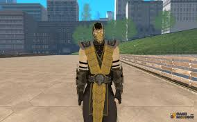 Scorpion Costume Alternative Costume For Gta San Andreas