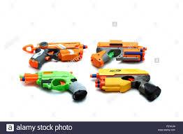 nerf car four nerf guns firestrike elite xd dark tag strikefire nerf