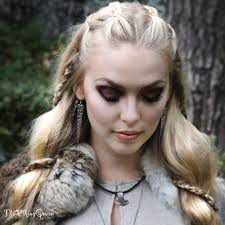 lagertha hair styles viking hairstyles for women fade haircut