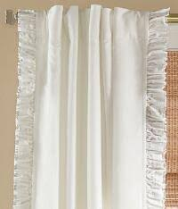 Cotton Drapes White Curtains U0026 White Drapes Country Curtains