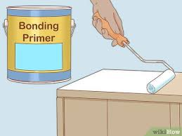 how to paint plastic laminate cabinets 3 ways to paint laminate cabinets wikihow