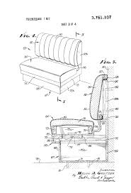 patent us3751107 restaurant booth with snap away back google