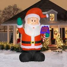 christmas inflatables outdoor 8 ft lighted soldier christmas outdoor