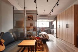 all about space tiny industrial loft style apartment in taipei city