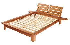 Flat Platform Bed Frame Full Size Wooden Bed Frame Susan Decoration