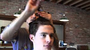 daniel alfonso hair salon la daniel alfonso at baxter finley scissor cut taper with andrew