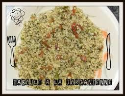 cuisine jordanienne taboule recette jordanienne les blablas de vivi
