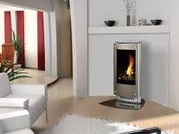 fireplace interior design paloma modern free standing gas fireplace small interior design