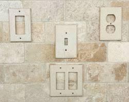 travertine light switch plates chiaro blank wall plate tile lines