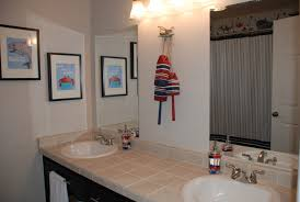 bathroom nautical themed bathroom beachy decor seashell wall