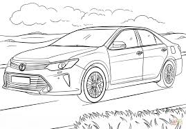 toyota camry coloring page free printable coloring pages