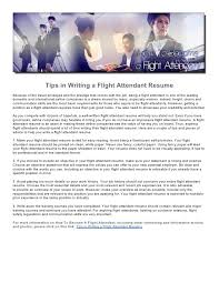 flight attendant cover letter example flight attendant resume