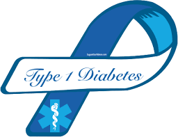 diabetes ribbon custom ribbon type 1 diabetes