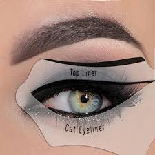 Eye Liner eyeliner stencil eyeshadow guide smokey cat eye makeup