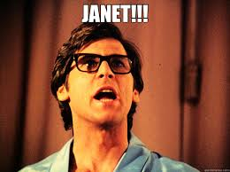 Rocky Horror Meme - janet great scott brad rocky horror picture show quickmeme
