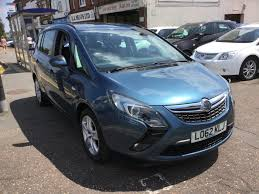 used vauxhall zafira exclusiv for sale motors co uk
