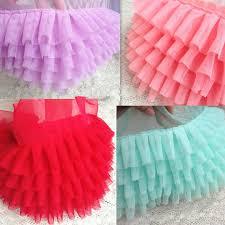 ruffle ribbon five layer mesh ruffled ribbon trim for skirt decoration 17 cm wide