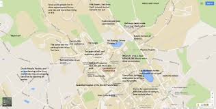 Notre Dame Campus Map A Judgmental Map Of Storrs Ctthe Black Sheep