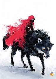 neonscope 15 illustrations red riding hood