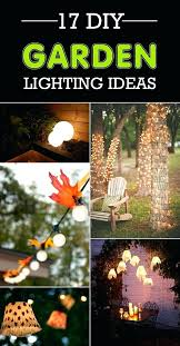 diy outdoor lighting without electricity diy backyard lighting diy outdoor lighting installation