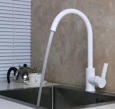 paint kitchen sink black aliexpress com buy deck mounted single dle swivel spout matte