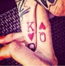 tattoo couple king and queen diy cupcake holders finger queens and tattoo