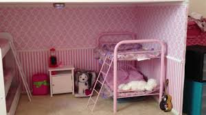 girls dollhouse bed american bedroom room tour how we designed our bedroom for