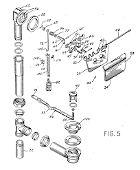 patent ep0254938a2 bathtub drain control valve and overflow