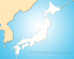Blank Maps Of Asia by Japan Blank Map By Freeworldmaps Net