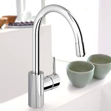 Grohe Kitchen Faucet Installation Bathroom Tasty Grohe Pull Down Spray Kitchen Faucet Mega Supply