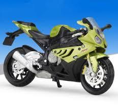 bmw motocross bike 1 18 maisto bmw s1000rr motorcycle bike model toy ebay