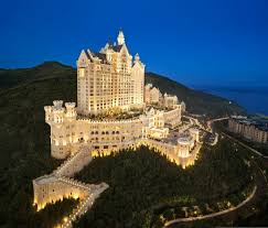 Dalian China Map The Castle Hotel A Luxury Collection Hotel Dalian China