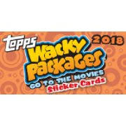 2018 topps wacky packages go to the movies col ed 8 box case