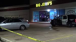 houston a man is in critical condition after being shot during a