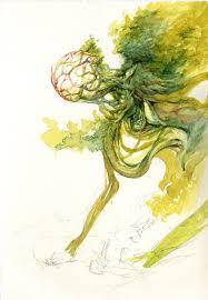 suchlaph angel of verdancy original sketch u2014 angelarium