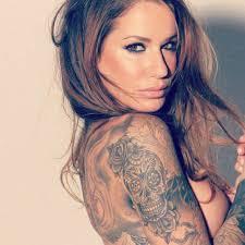 world u0027s most popular tattoo for female best chest tattoo designs