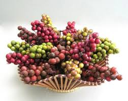 Fake Fruit Centerpieces by Artificial Berries Etsy