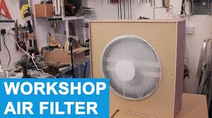box fan filter woodworking diy workshop air filter cleaner evening build youtube