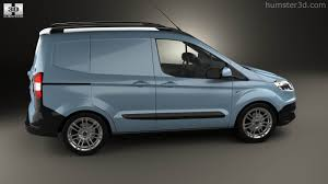 Ford Corier 360 View Of Ford Transit Courier 2015 3d Model Hum3d Store
