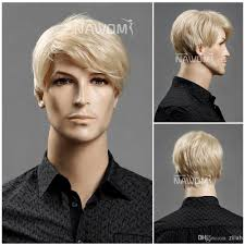 2017 best selling men blonde selling discount wigs