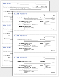 Receipt Template Excel Receipt Templates For Excel Free And Software Reviews