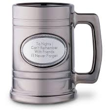 personalized beer glasses u0026 mugs at things remembered