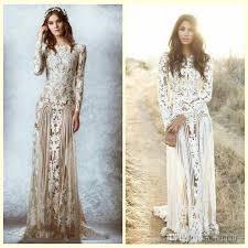 lace wedding dresses vintage zuhair murad lace vintage wedding dresses custom made sleeves